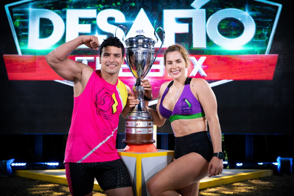 Paola y Galo se coronaron como los ganadores del Desafío The Box 2021